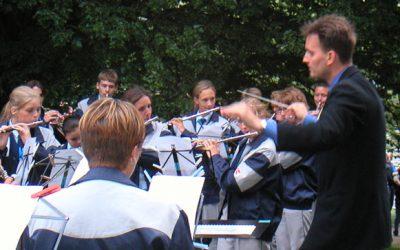 Nálunk ad hangversenyt a Koppenhágai Ifjúsági Fúvószenekar